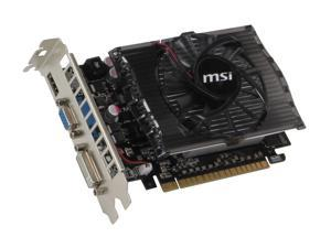 MSI GeForce GT 430 (Fermi) N430GT-MD4GD3 Video Card