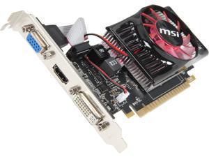 MSI GeForce GT 630 N630-1GD3/LP Video Card