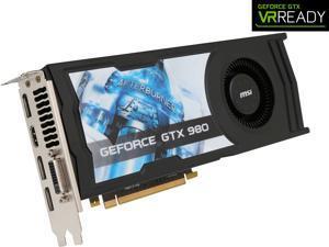 VGA MSI|GTX 980 4GD5 OCV1 R Configurator