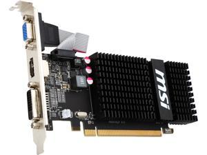 MSI R5 230 2GD3H LP-R Radeon R5 230 2GB 64-Bit GDDR3 PCI Express 2.1 x16 HDCP Ready CrossFireX Support Low Profile Video Card Certified Refurbished