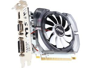 MSI GeForce GT 730 DirectX 12 N730-2GD3V3-R 2GB 128-Bit DDR3 PCI Express 2.0 x16 HDCP Ready Video Cards