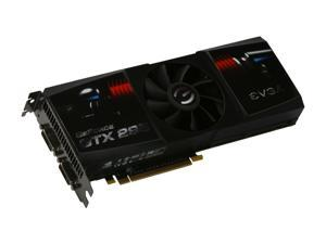 EVGA 017-P3-1296-AR GeForce GTX 295 Superclocked Edition 1792MB 896 (448 x 2)-bit DDR3 PCI Express 2.0 x16 HDCP Ready SLI Supported Video Card