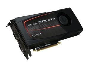 EVGA 012-P3-1472-AR GeForce GTX 470 (Fermi) SuperClocked 1280MB 320-bit GDDR5 PCI Express 2.0 x16 HDCP Ready SLI Support Video Card