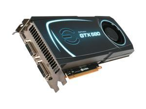 EVGA GeForce GTX 500 SuperClocked GeForce GTX 580 (Fermi) 015-P3-1582-AR Video Card