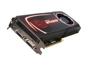 EVGA GeForce GTX 500 SuperClocked GeForce GTX 570 (Fermi) 012-P3-1572-AR Video Card
