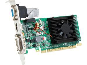 EVGA GeForce 210 DirectX 10.1 512-P3-1310-LR 512MB 32-Bit DDR3 PCI Express 2.0 x16 HDCP Ready Low Profile Video Card