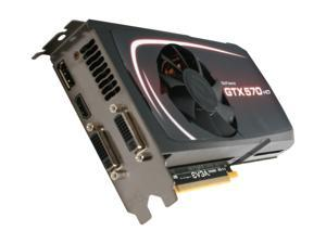 EVGA GeForce GTX 570 (Fermi) 012-P3-1571-KR Video Card