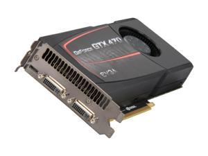 EVGA SuperClocked 012-P3-1472-RX GeForce GTX 470 (Fermi) 1280MB 320-bit GDDR5 PCI Express 2.0 x16 HDCP Ready SLI Support Video Card