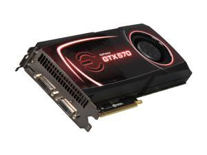 EVGA GeForce GTX 570 (Fermi) 012-P3-1570-RX Video Card