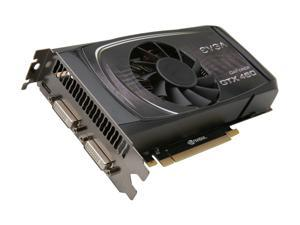 EVGA SuperClocked 01G-P3-1372-AR GeForce GTX 460 (Fermi) 1GB 256-bit GDDR5 PCI Express 2.0 x16 HDCP Ready SLI Support Video Card