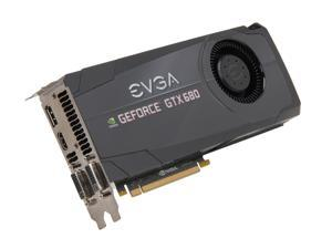 EVGA GeForce GTX 600 SuperClocked GeForce GTX 680 02G-P4-2684-KR Video Card