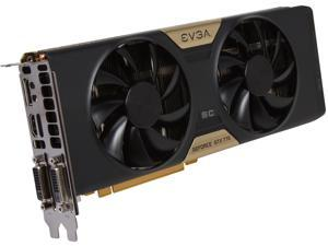 EVGA SuperClocked w/ ACX Cooling 02G-P4-2774-KR G-SYNC Support GeForce GTX 770 2GB 256-bit GDDR5 PCI Express 3.0 SLI Support Video Card