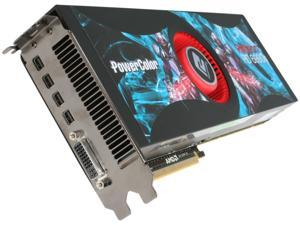 PowerColor Radeon HD 6990 DirectX 11 AX6990 4GBD5-M4D 4GB 256-Bit GDDR5 PCI Express 2.1 x16 HDCP Ready CrossFireX Support Video Card with Eyefinity