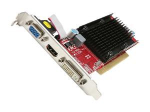 PowerColor Go! Green Radeon HD 5450 AP5450 512MD2-SH Video Card