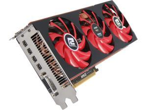 PowerColor Radeon HD 7990 DirectX 11.1 AX7990 6GBD5-M4DHG 6GB 384-Bit x2 GDDR5 PCI Express 3.0 x16 CrossFireX Support Video Card