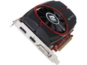 PowerColor Radeon HD 7770 DirectX 11 AX7770 1GBD5-DH 1GB 128-Bit GDDR5 PCI Express 3.0 x16 HDCP Ready CrossFireX Support Video Card