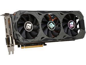 PowerColor PCS+ Radeon R9 290X DirectX 11.2 AXR9 290X 8GBD5-PPDHE 8GB 512-Bit GDDR5 PCI Express 3.0 CrossFireX Support ATX Video Card