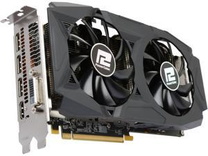 PowerColor RED DRAGON Radeon RX 580 DirectX 12 AXRX 580 4GBD5-3DHDV2/OC 4GB 256-Bit GDDR5 PCI Express 3.0 CrossFireX Support ATX Video Card