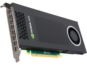 PNY NVS 810 VCNVS810DVI-PB 4GB 128-bit DDR3 PCI Express 3.0 x16 ATX Workstation Video Card