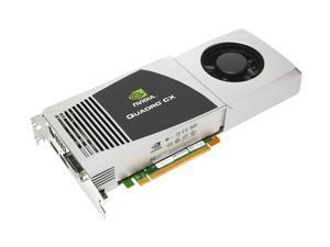 PNY Quadro CX VCQUADRO-CX-PB 1.5GB 384-bit GDDR3 PCI Express 2.0 x16 Workstation Video Card