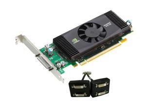 PNY Quadro NVS 420 VCQ420NVS-X16-DVI-PB 512MB (256MB per GPU) 128-bit (64-bit per GPU) GDDR3 PCI Express x16 Low Profile ...