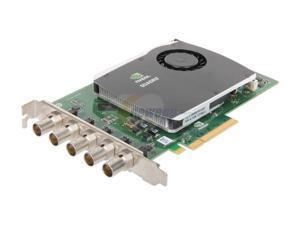 PNY VCQFXSDINPUT-PB PCI Express x8 Quadro SDI Capture Card