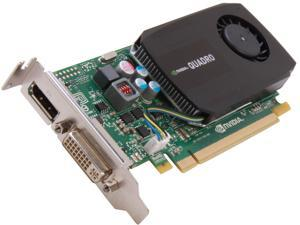 NVIDIA® Quadro® K600 VCQK600-PB 1GB GDDR3 PCI Express 2.0 x16 Low Profile Workstation Video Card