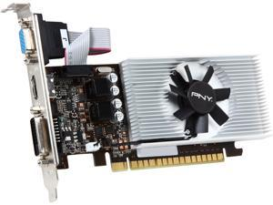 PNY GT 700 GeForce GT 730 DirectX 12 (feature 11_0) VCGGT7301D5LXPB 1GB 64-Bit GDDR5 PCI Express 2.0 Low Profile Ready Video Card