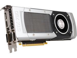 PNY GeForce GTX 780 DirectX 11.1 RVCGGTX7803XXB 3GB 384-Bit GDDR5 PCI Express 3.0 x16 SLI Support Video Card