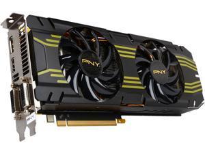 PNY GeForce GTX 770 DirectX 11.1(feature 11_0) RVCGGTX7704XXB-OC2 4GB 256-Bit GDDR5 PCI Express 3.0 x16 SLI Support Video Card