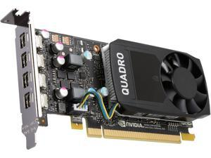 PNY Quadro P600 VCQP600-PB 2GB 128-bit GDDR5 PCI Express 3.0 x16 Low Profile Video Cards - Workstation