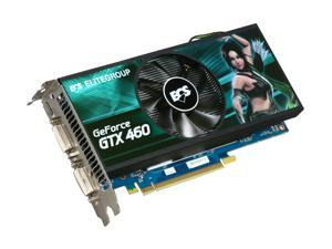 ECS GeForce GTX 460 (Fermi) NGTX460-1GPI-F1 Video Card