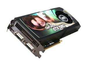 ECS GeForce GTX 580 (Fermi) NGTX580-1536PI-F Video Card