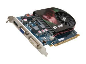 ECS GeForce GT 440 (Fermi) NGT440-512QI-F1 Video Card