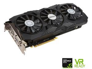 MSI GeForce GTX 1080 DirectX 12 GTX 1080 DUKE 8G OC 8GB 256-Bit GDDR5X PCI Express 3.0 x16 HDCP Ready SLI Support Video Cards