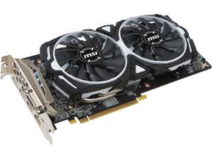 MSI Radeon RX 580 DirectX 12 RX 580 ARMOR 4G OC 4GB 256-Bit GDDR5 PCI Express 3.0 x16 HDCP Ready CrossFireX Support Video Card