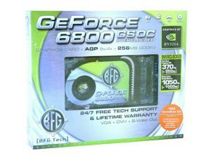 BFG Tech GeForce 6800GS BFGR68256GSOC Video Card