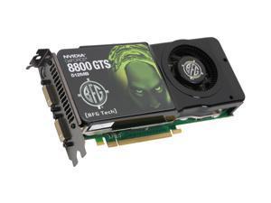 BFG Tech GeForce 8800GTS (G92) BFGE88512GTSE Video Card