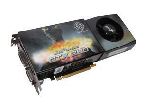 BFG Tech GTX GeForce GTX 280 DirectX 10 BFGEGTX2801024OCXE 1GB 512-Bit GDDR3 PCI Express 2.0 x16 HDCP Ready SLI Support Video Card