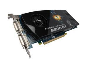 BFG Tech 9 GeForce 9800 GT DirectX 10 BFGE98512GTOCE 512MB 256-Bit GDDR3 PCI Express 2.0 x16 HDCP Ready SLI Support Video Card