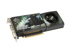 BFG Tech GTX GeForce GTX 260 DirectX 10 BFGEGTX260MC896OCDE 896MB 448-Bit GDDR3 PCI Express 2.0 x16 HDCP Ready SLI Support Video Card