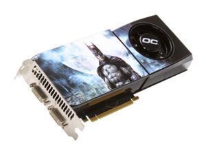 BFG Tech BFGEGTX2852048OCE-BAT GeForce GTX 285 2GB 512-bit GDDR3 PCI Express 2.0 x16 HDCP Ready SLI Supported Limited Edition BATMAN Video Card