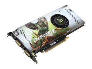 XFX PVT94PYDDU GeForce 9600GT XXX 512MB 256-bit GDDR3 PCI Express 2.0 x16 HDCP Ready SLI Supported Video Card