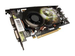 XFX GeForce 9600 GSO PVT96OFDQ4 Video Card