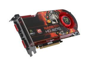 XFX Radeon HD 4870 DirectX 10.1 HD487AZDF 1GB 256-Bit GDDR5 PCI Express 2.0 x16 HDCP Ready CrossFireX Support Video Card