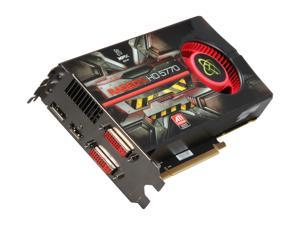 XFX Radeon HD 5770 (Juniper XT) DirectX 11 HD-577A-ZNFC 1GB 128-Bit GDDR5 PCI Express 2.1 x16 HDCP Ready CrossFireX Support Video Card