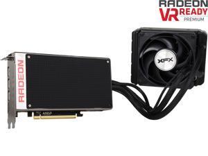 XFX R9-FURY-4QFA RADEON R9 FURY X 4GB HBM Liquid Cooled 4096-Bit PCI Express 3.0 CrossFireX Support Video Card