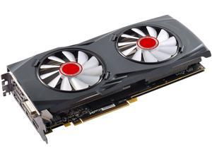 XFX GTR-S Black Edition Radeon RX 580 DirectX 12 RX-580A8DBW6 8GB OC+ 1450 MHz White LED Fans and XFX Backplate 256-Bit DDR5 PCI Express 3.0 CrossFireX Support Video Card