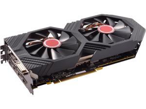 XFX Radeon RX 580 DirectX 12 RX-580P427D6 4GB 256-Bit DDR5 PCI Express 3.0 CrossFireX Support GTS XXX Edition Video Card w/ Backplate
