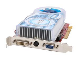 HIS Radeon X1300 DirectX 9 H130QT256AN 256MB 128-Bit GDDR2 AGP 4X/8X IceQ Turbo CrossFire Ready Video Card